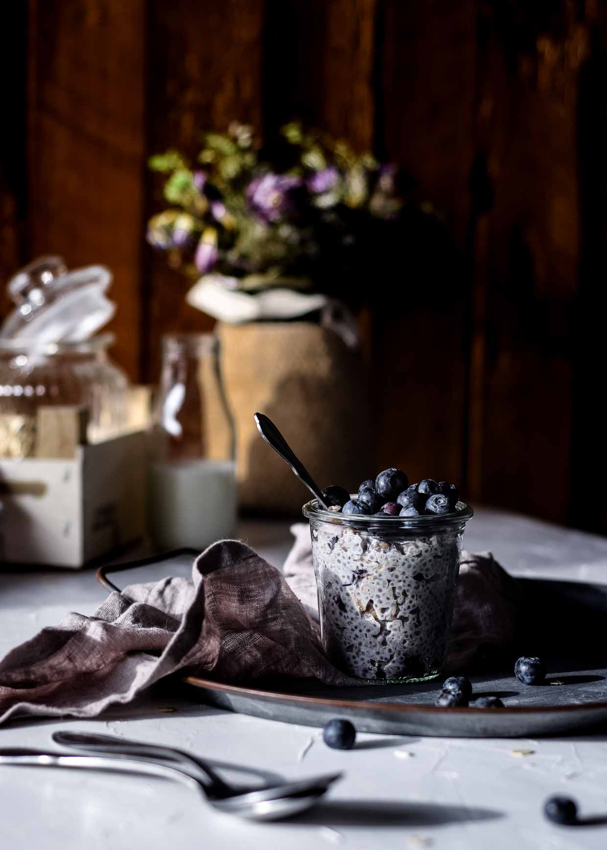 Porridge Mit Chiasamen