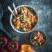 Kichererbsen Paprika Salat